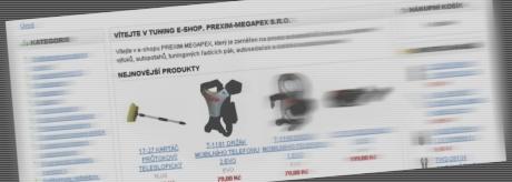 Tuning e-shop Prexim-Megapex